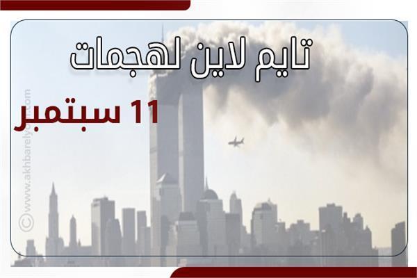 هجمات 11 سبتمبر.. تايم لاين لهجمات الثلاثاء الأسود