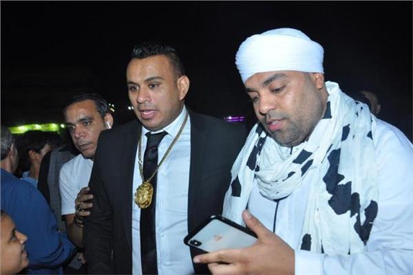 الليثي وأبو الليف ونجوم الطرب في زفاف ابنة عمرو أبوزيد