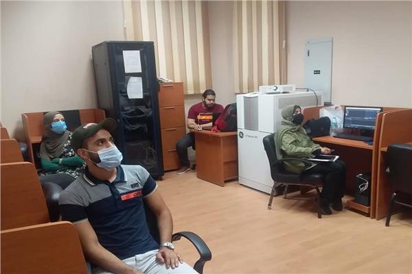 دورات تدريبية تكنولوجية بالمركز الثقافى بطنطا