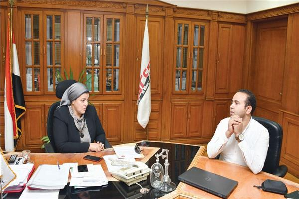 د. هبة والى خلال حوارها للأخبار