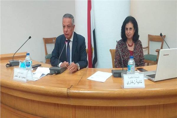 نادية زخاري تناقش أخلاقيات البحث العلمي والبحوث الطبية بالأعلى للثقافة