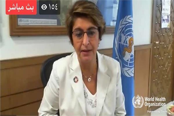 مديرة إدارة البرامج الصحية بالمكتب الإقليمي لشرق المتوسط د.رنا الحجة