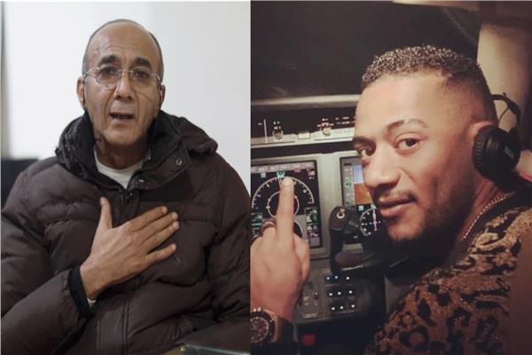 محمد رمضان و الطيارالموقوف