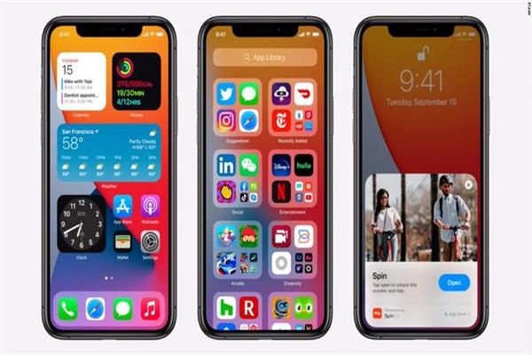 "تفاصيل نظام تشغيل هواتف ""آيفون"" الجديد ""آي أو إس 14"""