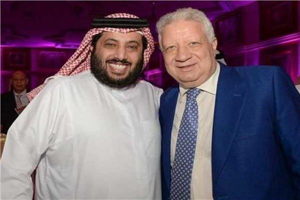 تركي آل الشيخ ومرتضى منصور