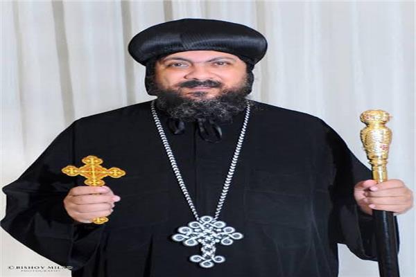 القس يوحنا مشيل سكرتير الأنباء مكارى الأسقف العام لكنائس شبرا الجنوبية