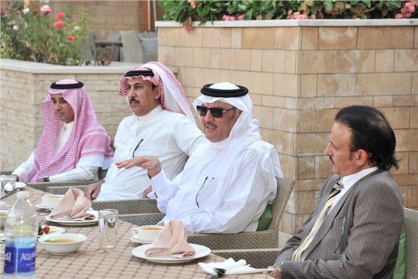 السفير السعودي بالقاهرة يقيم حفل تكريم للملحق الثقافي الجديد