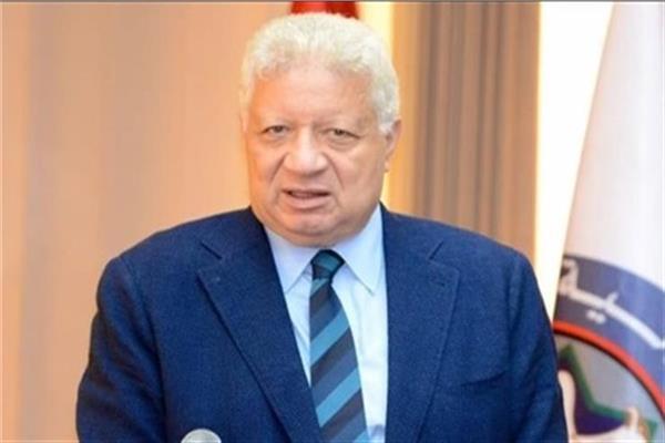المستشار مرتضى منصور رئيس نادي الزمالك