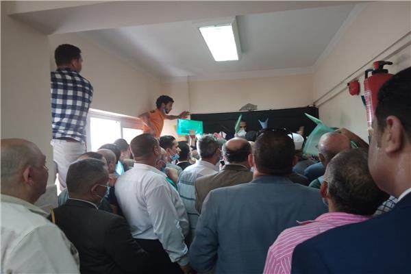 ٩٢ مرشحا يتقدمون بأوراقهم للجنة الانتخابات مجلس النواب بأسيوط
