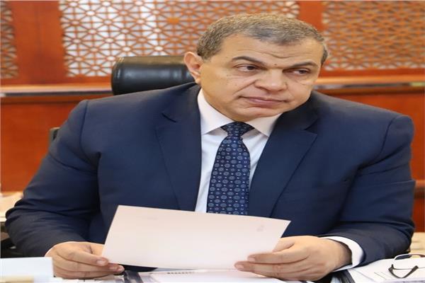 وزير القوى العاملة محمد سعفان،