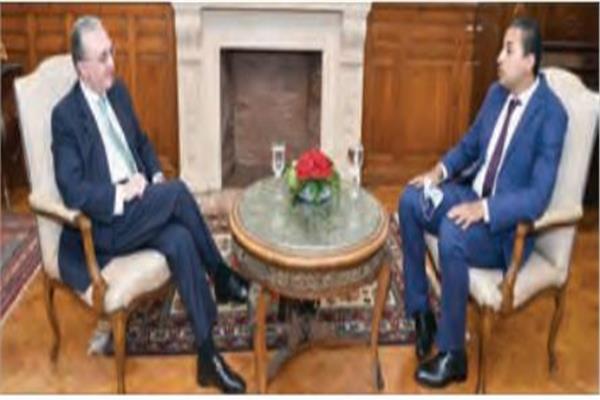 وزير خارجية أرمينيا خلال حواره للأخبار