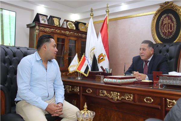 رئيس المجلس القومي لرعاية أسر الشهداء والمصابين