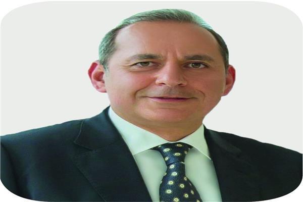 هشام عكاشة رئيس مجلس إدارة البنك الأهلى المصرى