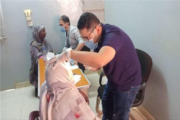 جانب من عمل بعثة الفريق الطبي المصري في دولة السودان