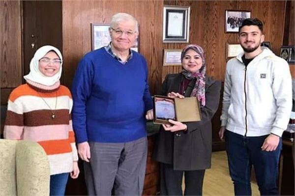 طلاب الجامعة المصرية الروسية
