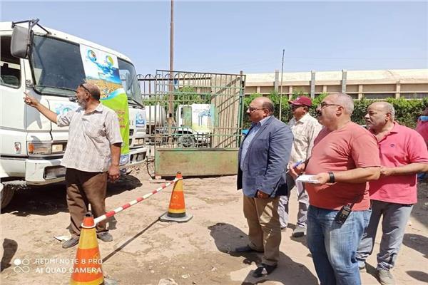 شركة القناة لمياه الشرب والصرف الصحى أنهت استعدادتها لفصل الشتاء
