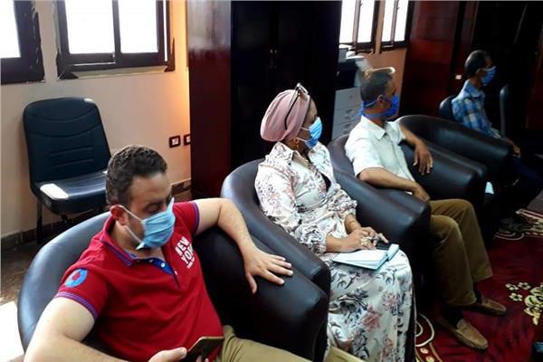 إجتماع تنسيقي بين صحة وتعليم جنوب سيناء إستعدادا للعام الدراسي الجديد