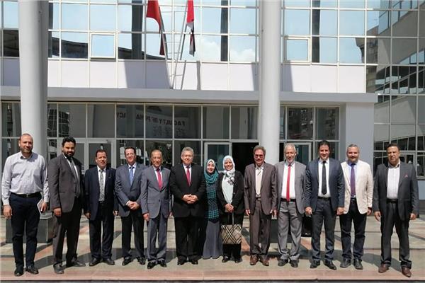 تعاون بين الجامعة المصرية الصينية ووكالة الفضاء المصرية
