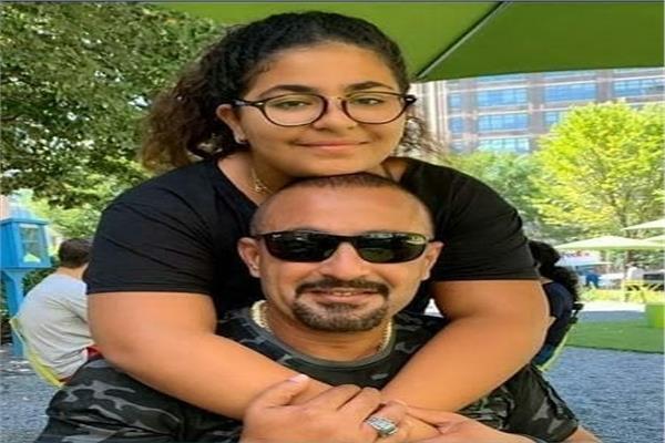 أحمد السقا وإبنته نادية