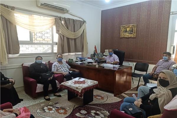المدرسة الأسقفية بمدينة منوف