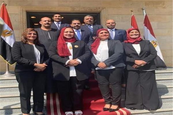 مرشحو القائمة الوطنية لمجلس النواب في قنا