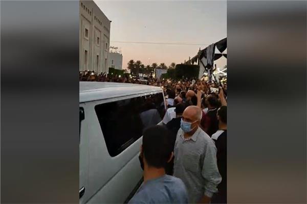 جنازة رجل الأعمال محمد فريد خميس