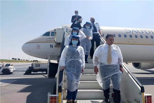 أولى رحلات الخطوط الجوية السعودية