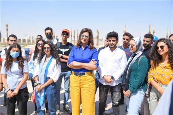 زيارة لوفد الشباب الدارسين بالخارج إلى العاصمة الإدارية