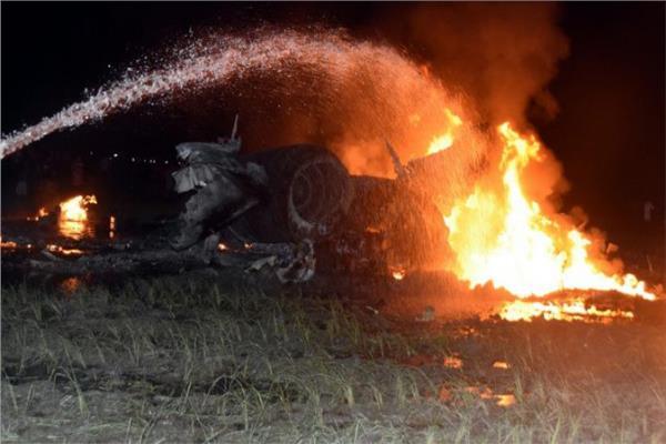 تحطم طائرة عسكرية أوكرانية