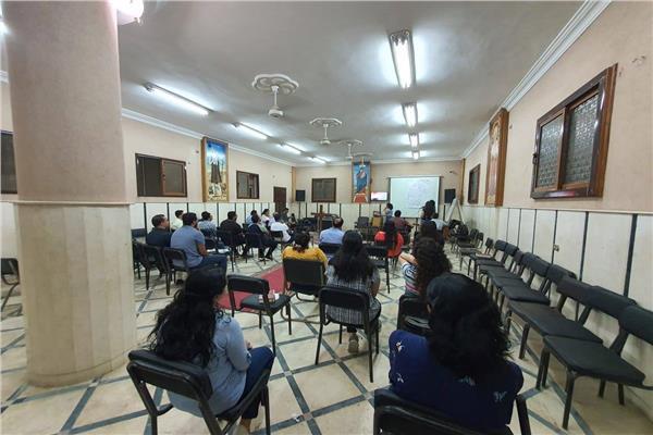 انطلاق فعاليات اجتماع الشباب في كاتدرائية السيدة العذراء مريم بقويسنا