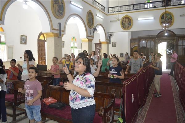 استمرار فعاليات مدارس الأحد في كنائس الدلتا