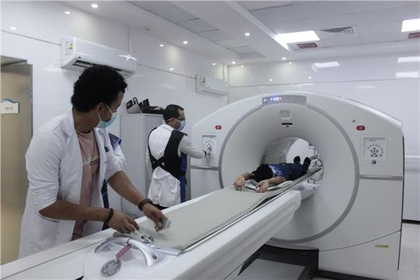 جهاز التصوير المقطعي للكشف عن الأورام