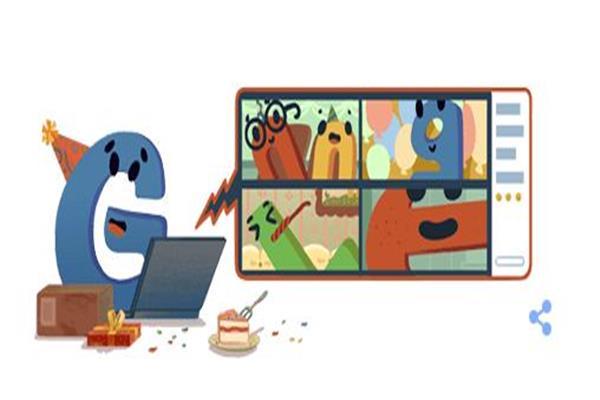 بصورة كرتونية.. «جوجل» يحتفل بعيد ميلاده الـ22