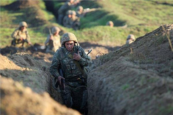 إعلان الأحكام العرفية والتعبئة العامة في أرمينيا