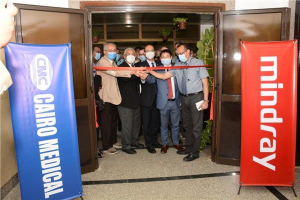 افتتاح وحدة التدريب وأبحاث الموجات فوق الصوتيةبمستشفي صحة المرأة بجامعة أسيوط