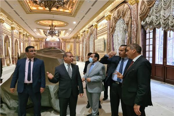 لجنة الشيوخ تتابع أعمال تجديد المبني