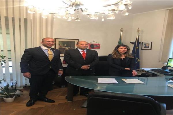 السفير هشام بدر، سفير جمهورية مصر العربية في روما