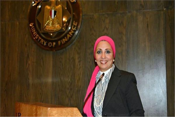 داليا فوزي مدير وحدة الدفع والتحصيل الإلكتروني بوزارة المالية