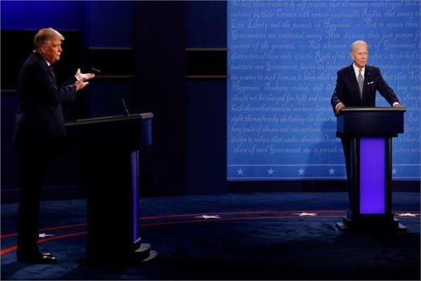 بايدن وترامب - صورة من رويترز