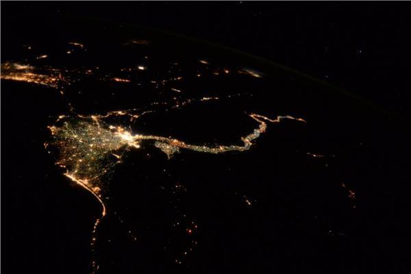 مصر من الفضاء