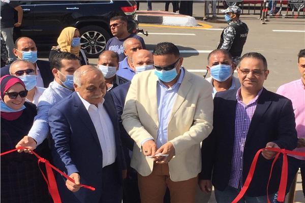 صور| افتتاح ميدان الشيخ حسانين بالمنصورة بعد تطويره