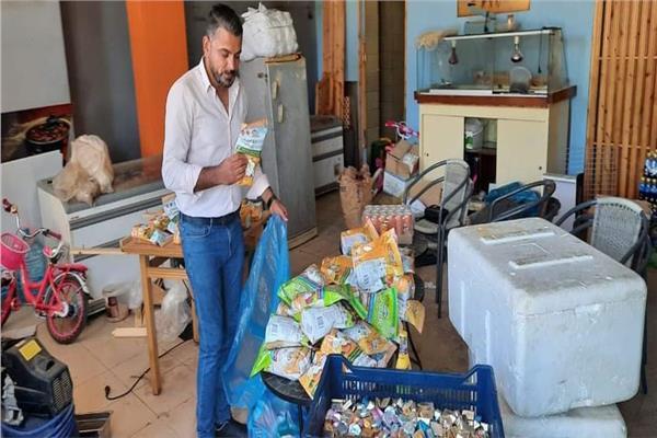 أغذية ومشروبات فاسدة بمدينة شرم الشيخ