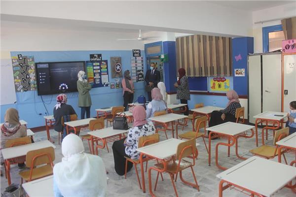 حملة للرقابة الإدارية على مدارس السويس