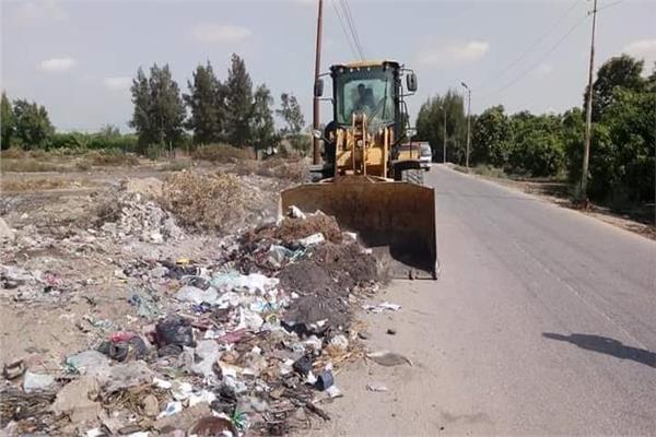 حملة «نور ونظف قرية» تنهي أعمالها بالإسماعيلية