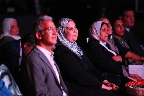 القباج تشهد ختام عرض أفلام وزارة التضامن الاجتماعي