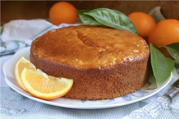 حلو اليوم .. «كيكة البرتقال»