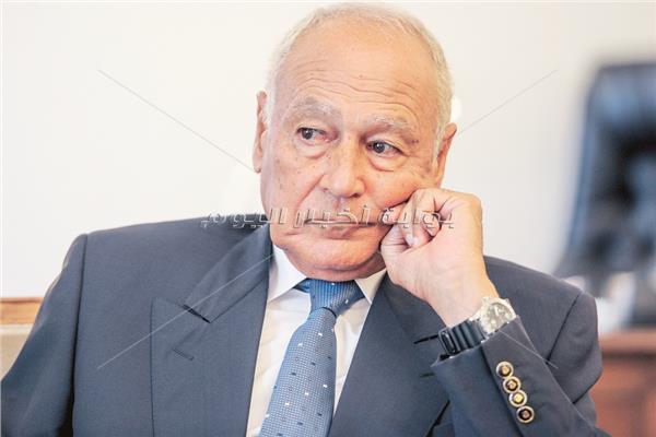 أحمد أبو الغيط الأمين العام لجامعة الدول العربية - تصوير خالد الباجوري