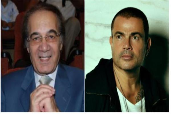 عمرو دياب ينعي محمود ياسين