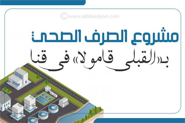 إنفوجراف| المعلومات عن مشروع الصرف الصحي بـ«القبلي قامولا» في قنا