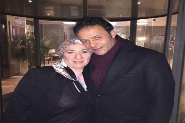 الهارب هشام عبدالله وزوجته غادة نجيب
